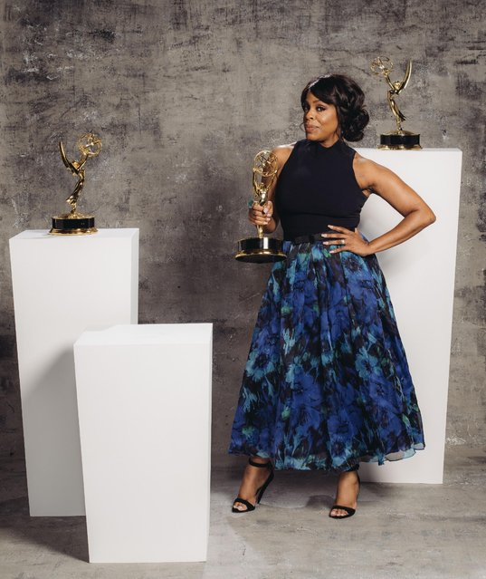 Niece Nash poses for a portrait at the Television Academy's 67th Emmy Awards Performers Nominee Reception at the Pacific Design Center on Saturday, September 19, 2015 in West Hollywood, Calif. (Photo by Casey Curry/Invision for the Television Academy/AP Images)