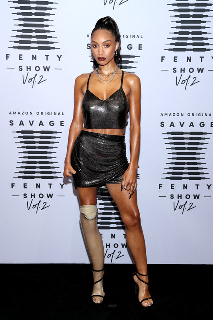 In this image released on October 1, Lyric Mariah attends Rihanna's Savage X Fenty Show Vol. 2 presented by Amazon Prime Video at the Los Angeles Convention Center in Los Angeles, California; and broadcast on October 2, 2020. (Photo by Jerritt Clark/Getty Images for Savage X Fenty Show Vol. 2 Presented by Amazon Prime Video)
