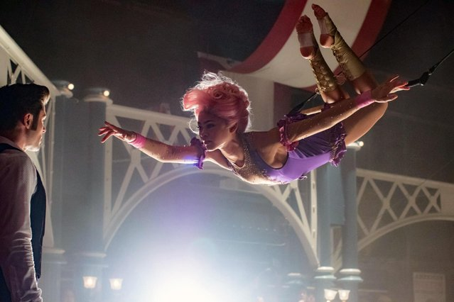 The Greatest Showman is an upcoming American biographical musical drama film directed by Michael Gracey, and written by Jenny Bicks and Bill Condon. It stars Hugh Jackman, Zac Efron, Michelle Williams, Rebecca Ferguson and Zendaya, and tells the story of how P. T. Barnum started the Barnum & Bailey Circus. (Photo by  Lifestyle pictures/Alamy Stock Photo)