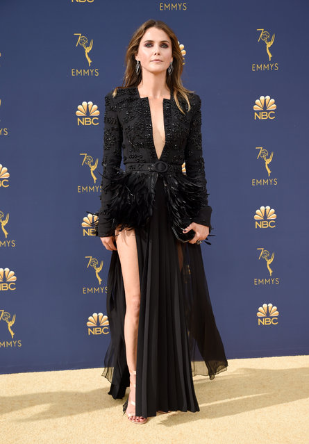Keri Russell attends the 70th Emmy Awards at Microsoft Theater on September 17, 2018 in Los Angeles, California. (Photo by Kevin Mazur/Getty Images)
