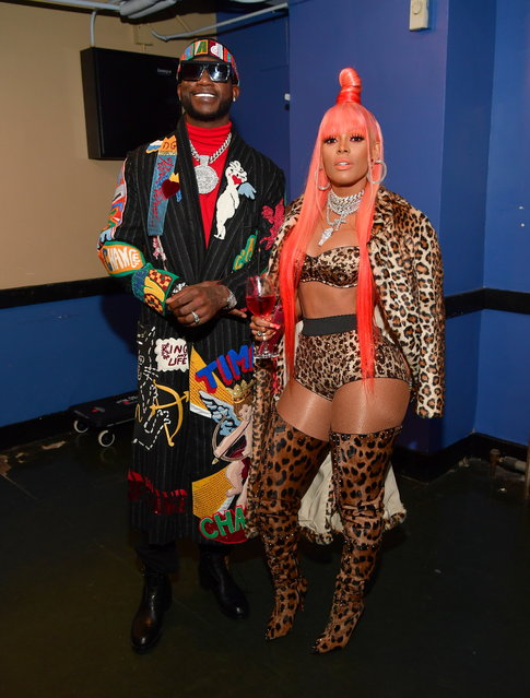 Gucci Mane and Keyshia Kaoir attend Gucci Mane and Friends – Holiday Show at Fox Theater on December 27, 2018 in Atlanta, Georgia. (Photo by Prince Williams/Wireimage)