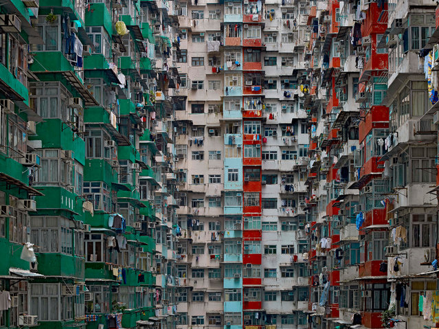 Architecture of Density #119, 2009. (Photo by Michael Wolf, courtesy of Flowers Gallery)
