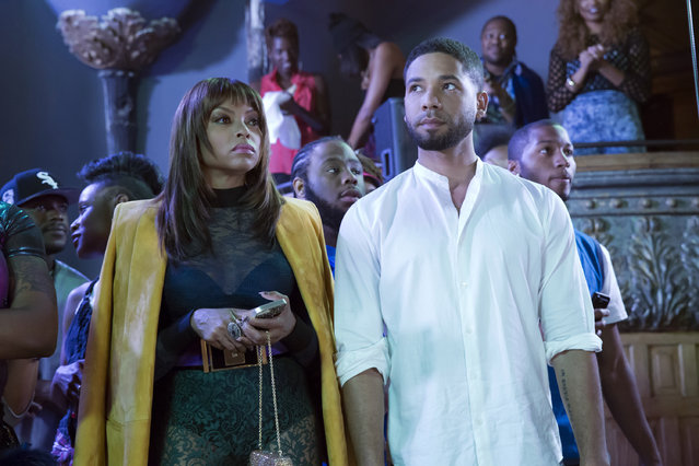 "This photo provided by Fox shows, Taraji P. Henson, left, as Cookie Lyon and Jussie Smollett as Jamal Lyon in the ""My Bad Parts"" episode of the television series, ""Empire"".  Fox Entertainment says Smollett will not return to its series ""Empire"" in the wake of allegations by Chicago officials that the actor lied about a racially motivated attack. The studio released a statement Tuesday, April 30, saying ""there are no plans for Smollett's character of Jamal to return to 'Empire.'"" No reason was given. (Photo by Chuck Hodes/Fox via AP Photo)"