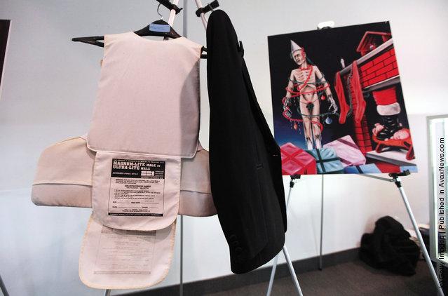 Dr. Jack Kevorkian's bulletproof vest