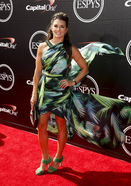 NASCAR driver Danica Patrick arrives for the 2015 ESPY Awards in Los Angeles, California July 15, 2015. (Photo by Danny Moloshok/Reuters)