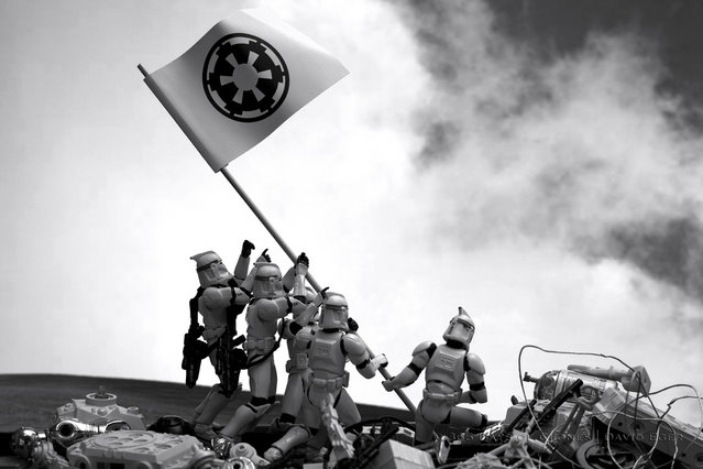 Troopers Raising the Flag on Iwo Jima
