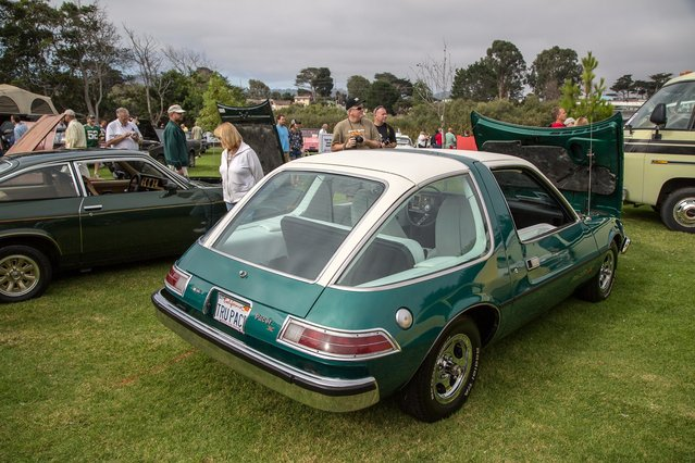 The AMC Pacer always makes a strong showing at Lemons, and this AMC Pacer X model was no exception. (Photo by Robert Kerian/Yahoo Autos)