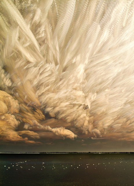 """Cloud Chaos Cropped"". (Matt Molloy)"