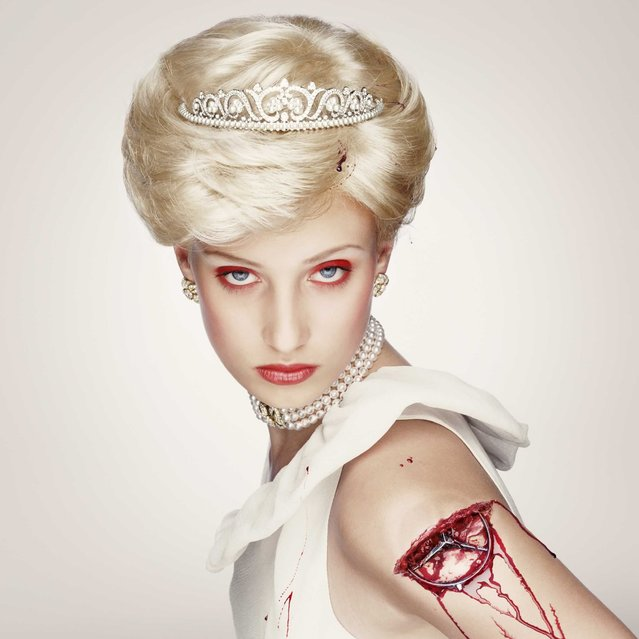 «Royal Blood» Project. Diana, 2000. (Photo by Erwin Olaf)