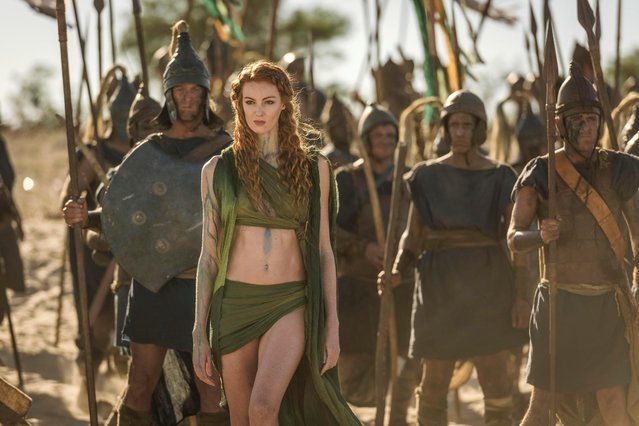 "Steamy new BBC drama ""Troy: Fall Of A City"" is clearly inspired by the bloody tales of Westeros, and, like the HBO show, has a major backer in Netflix, which has splashed out £2million on each one of its eight lavish episodes. (Photo by BBC Pictures' Digital Picture)"