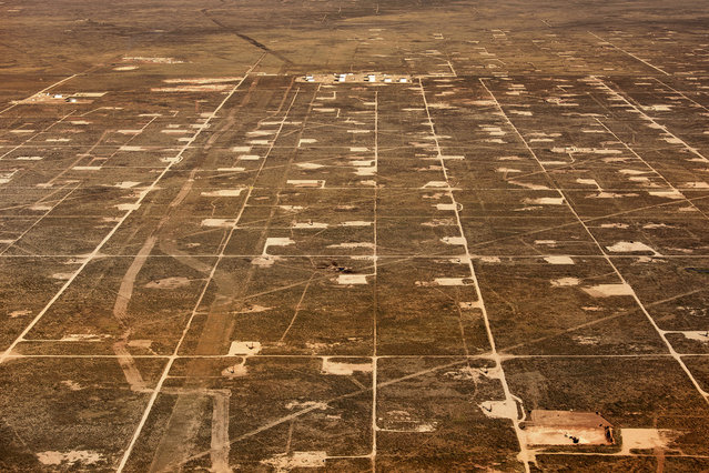 Large oil fields in Texas. (Photo by Jassen Todorov/Caters News)