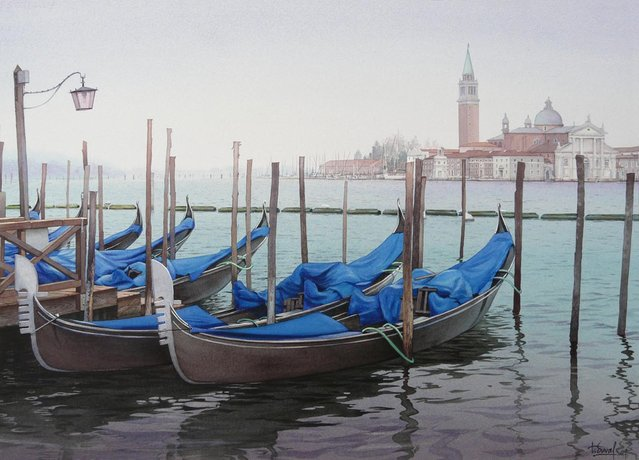 Watercolor Paintings By Thierry Duval