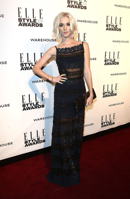 Portia Freeman attends the Elle Style Awards 2014 at one Embankment on February 18, 2014 in London, England. (Photo by Tim P. Whitby/Getty Images)