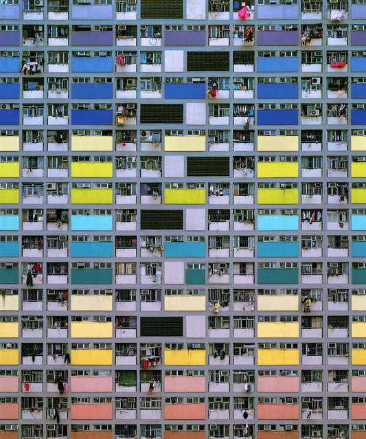 Architecture of Density #75, 2006. (Photo by Michael Wolf, courtesy of Flowers Gallery)