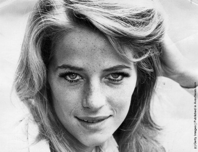 circa 1968:  British actress Charlotte Rampling
