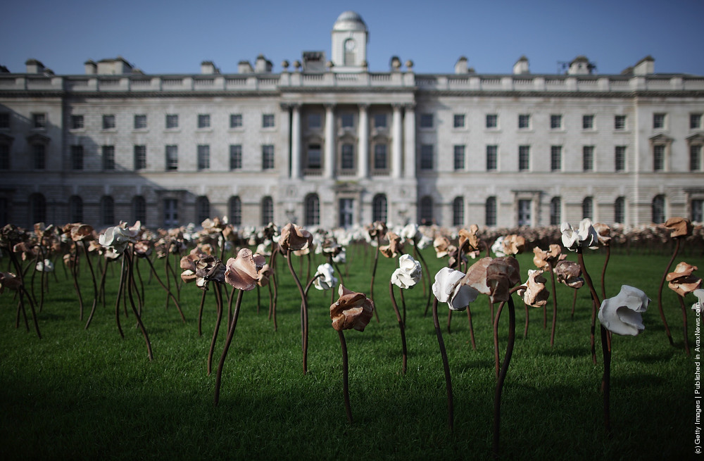 Fernando Casasempere Installation at Somerset House