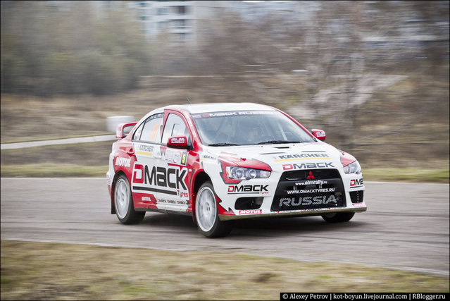 Rally Masters Show 2012, Moscow, Russia