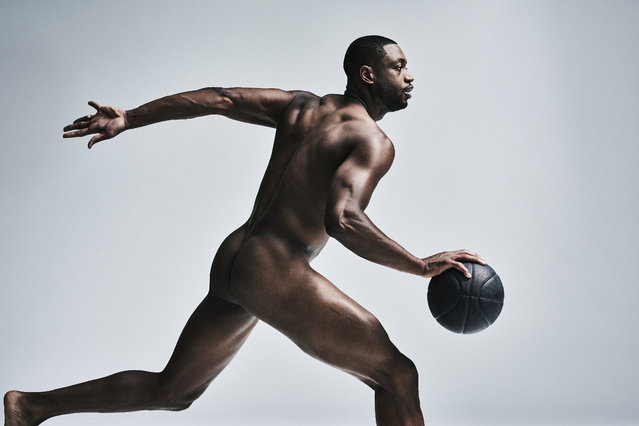 New York, NY. June 6, 2016: Miami Heat shooting guard Dwyane Wade. (Photo by Carlos Serrao for ESPN The Magazine Body Issue)