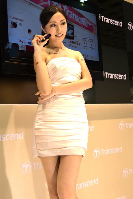 Asian Beauty: Hot Promotional Models in Taipei, Taiwan. Computex Taipei 2010
