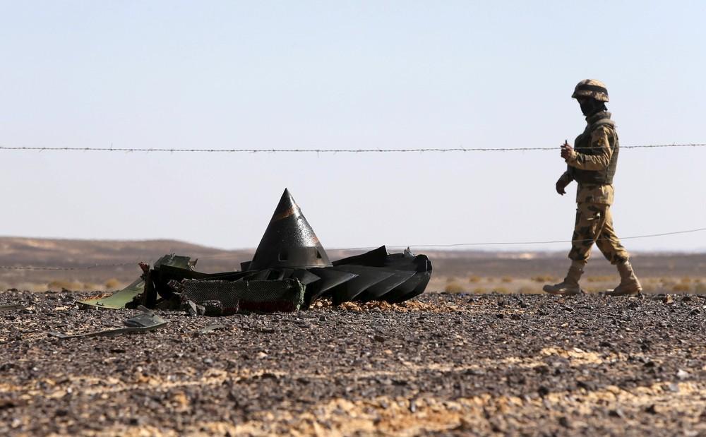 At Egypt Crash Scene