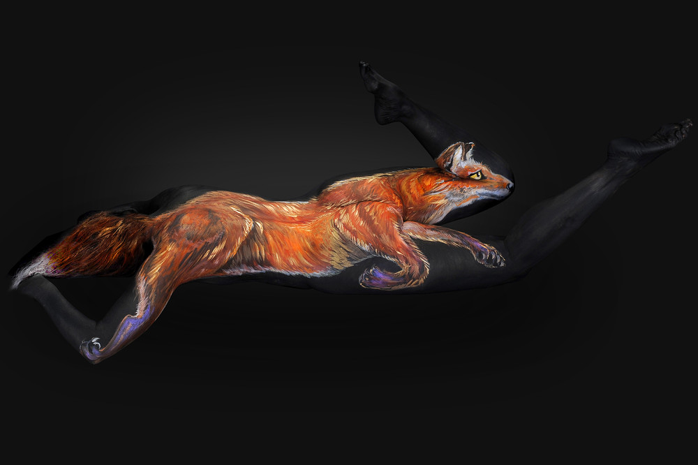 Incredible Body Art Work