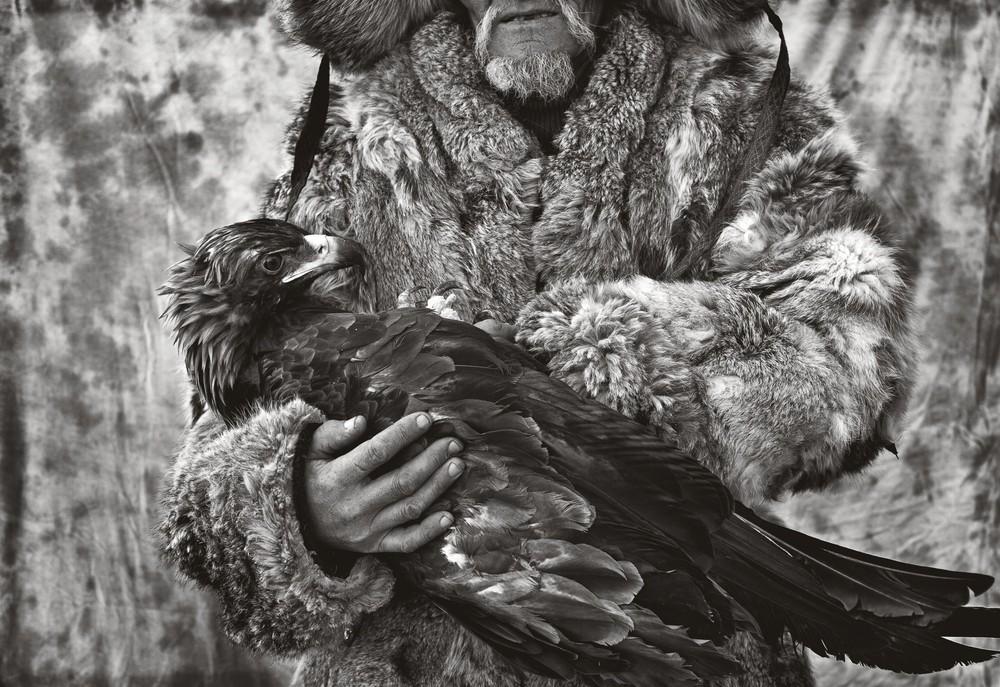 Mongolian Kazakhs Hunting with Eagles