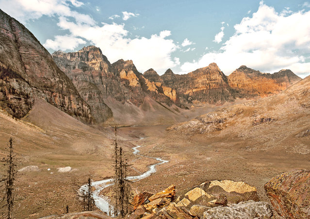 Banff National Park, Canada, after severe drought. (Photo by Joel Krebs/Caters News)