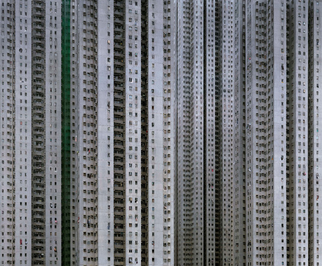 Architecture of Density #13b, 2009, 2006. (Photo by Michael Wolf, courtesy of Flowers Gallery)