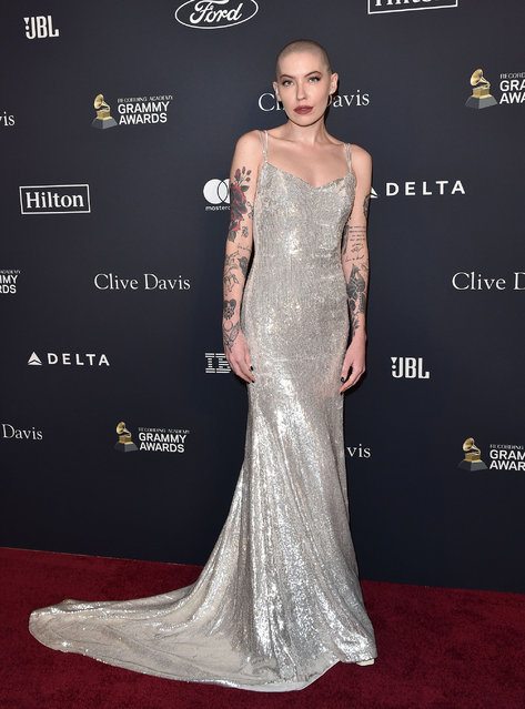 """Bishop Briggs attends the Pre-GRAMMY Gala and GRAMMY Salute to Industry Icons Honoring Sean """"Diddy"""" Combs at The Beverly Hilton Hotel on January 25, 2020 in Beverly Hills, California. (Photo by Axelle/Bauer-Griffin/The Mega Agency)"""