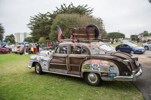 The 1947 Chrysler Town & Country Termite edition. (Photo by Robert Kerian/Yahoo Autos)