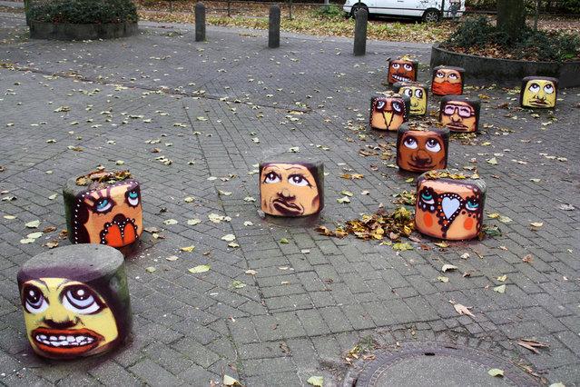 """Manifestation"", Hamburg. (Photo by ZONENKINDER Collective)"