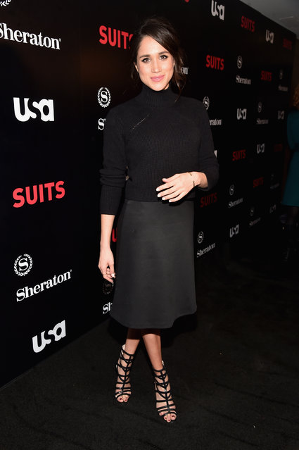"Actress Meghan Markle attends the premiere of USA Network's ""Suits"" Season 5 at the Sheraton Los Angeles Downtown Hotel on January 21, 2016 in Los Angeles, California. (Photo by Alberto E. Rodriguez/Getty Images)"
