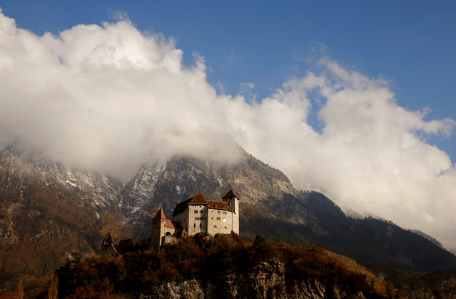 LIECHTENSTEIN: A general view shows Burg Gutenberg castle in Balzers, Liechtenstein November 10, 2016. (Photo by Arnd Wiegmann/Reuters)
