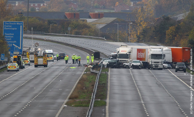 Multiple Fatalities Feared In M5 27-Vehicle Pile-Up