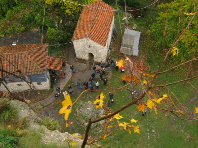 Katskhi Pillar In Georgia