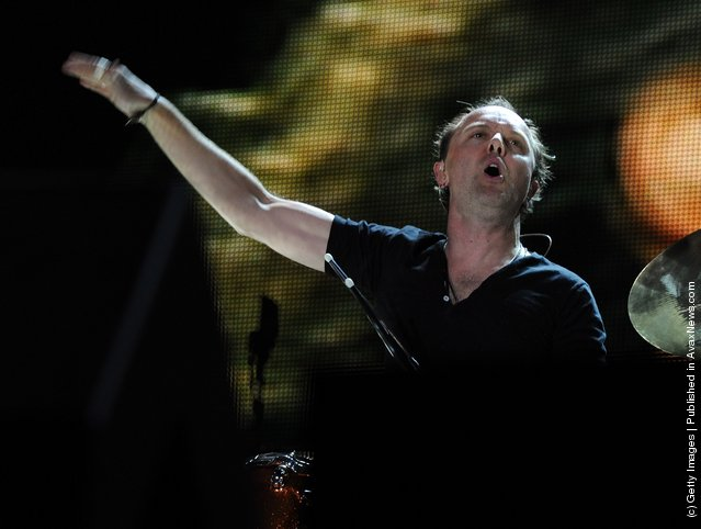 Musician Lars Ulrich of Metallica