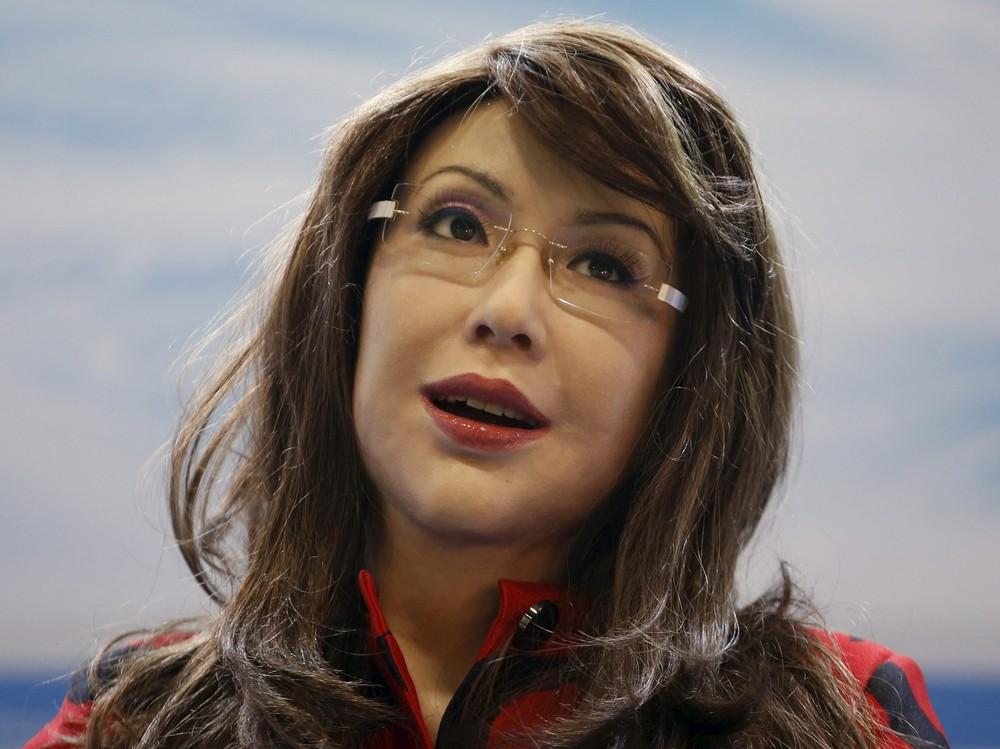 """Chinese Humanoid Robot Named """"Yangyang"""""""