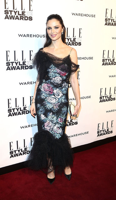 Georgina Chapman attends the Elle Style Awards 2014 at one Embankment on February 18, 2014 in London, England. (Photo by Tim P. Whitby/Getty Images)