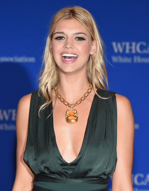 Model Kelly Rohrbach attends the 102nd White House Correspondents' Association Dinner  on April 30, 2016 in Washington, DC. (Photo by Larry Busacca/Getty Images)