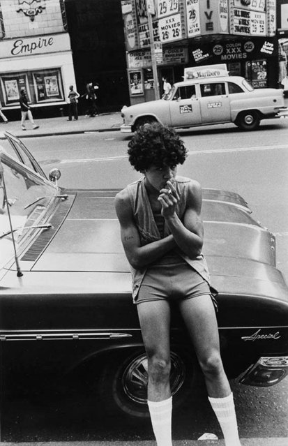 Untitled (42nd Street Series), 1978. (Photo by Larry Clark/Courtesy of the artist and Luhring Augustine, New York)