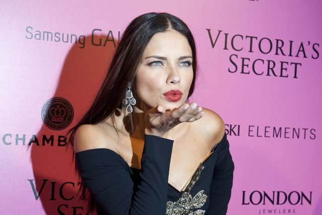 Model Adriana Lima attends the after party for the 2012 Victoria's Secret Fashion Show at Lavo NYC on November 7, 2012 in New York City. (Photo by Jim Spellman/WireImage)