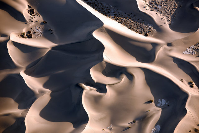 Dunes, Death Valley, California. (Photo by Jassen Todorov/Caters News)