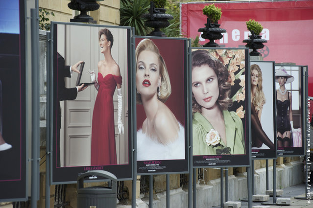 Marie Claire Magazine Film Exhibition at Oquendo street during 59th San Sebastian Film Festival