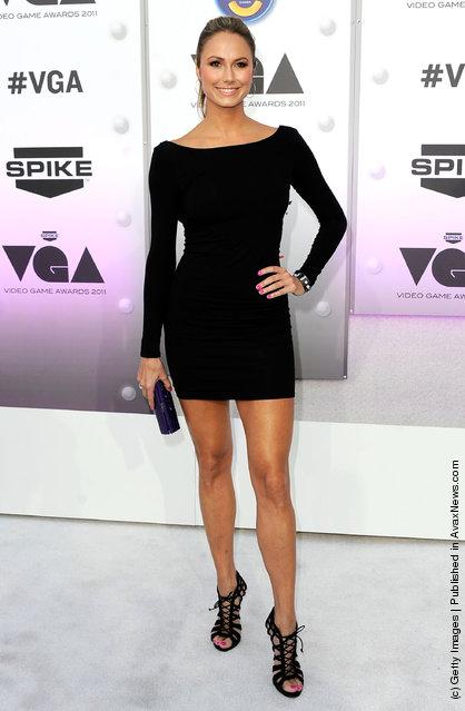 Actress Stacy Keibler