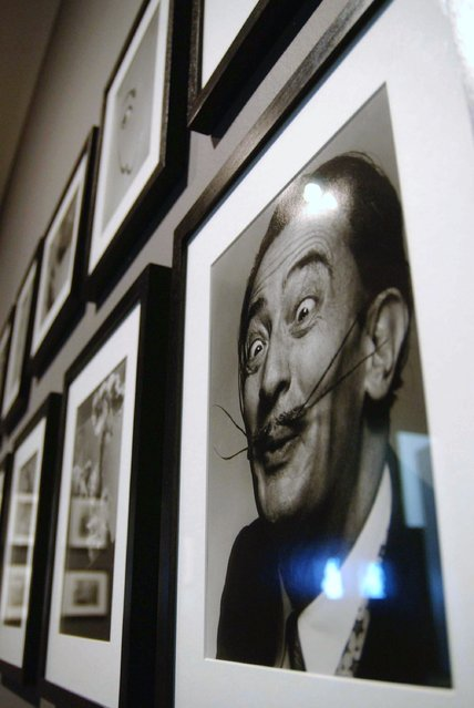A portrait of Salvador Dali at the Dali & Film exhibition at the Tate Modern on May 30, 2007 in London.  The exhibition displays the surrealist's collaborations with film makers including Walt Disney, Alfred Hitchcock and the Marx brothers. (Photo by Jim Dyson)