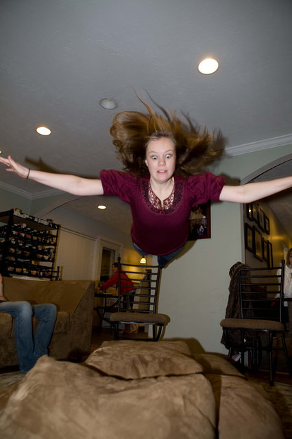 """Jumpology"". OMG!. (Photo by Rick Smith)"