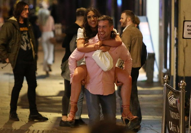 Cardiff was a popular spot on Saturday night, September 19, 2020 before pubs closed at 10pm. (Photo by Huw Evans Picture Agency/The Sun)