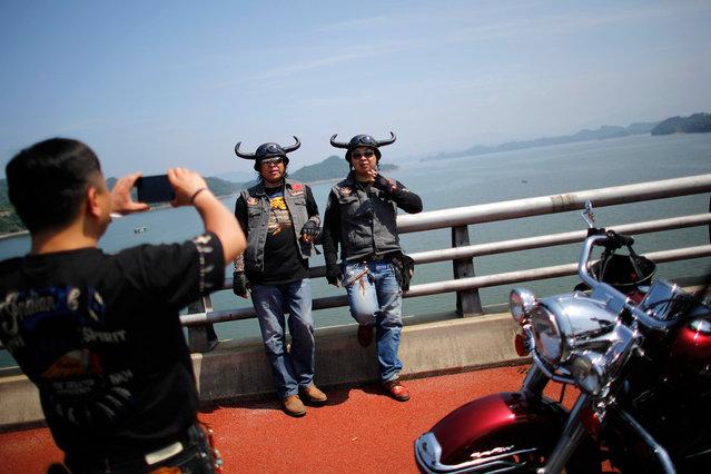 Harley Davidson. China's easy riders