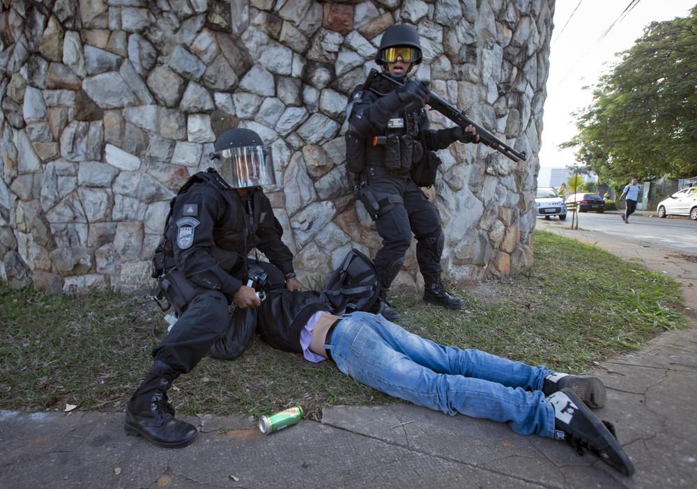 Brazilian Anti-government Protests