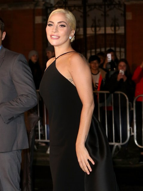 Lady Gaga attends The Fashion Awards 2016 at Royal Albert Hall on December 5, 2016 in London, England. (Photo by Danny E. Martindale/Getty Images)